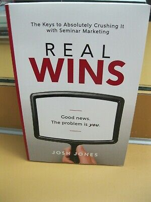 AU6.73 • Buy Real Wins 2018 The Key To Absolutely Crushing It With Seminar Marketing Vg