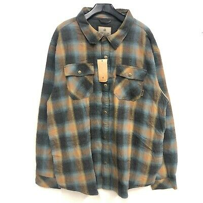 $15 • Buy NWT Legendary Whitetails Plaid Flannel Shirt Mens SZ 2XL Hunting Outdoor  H2