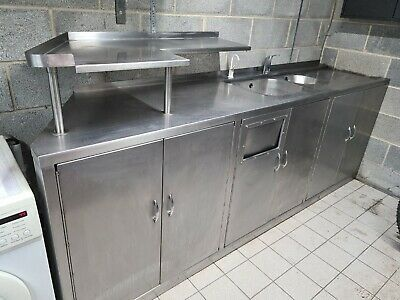 £104 • Buy Commercial Stainless Steel Sink Unit