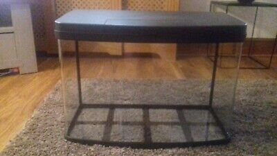 £10 • Buy Pets A Home 64L Panorama Aquarium - No Filter - Some Lights Not Fully Working