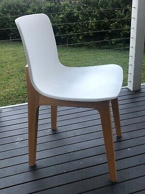 AU4.25 • Buy White Dining Chairs 6 - Excellent Condition. Pick Up From Melbourne