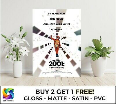 £3.15 • Buy 2001 A Space Odyssey Classic Movie Large Poster Art Print Gift Multiple Sizes