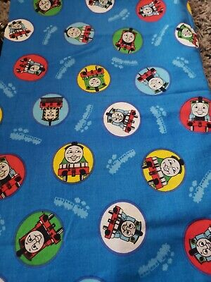 £9.24 • Buy 1 Yd New 2009 Thomas The Tank Engine   100% Cotton Sewing/Quilting Fabric..