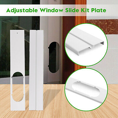 AU42.58 • Buy 2PCS Adjustable Window Slide Kit Plate For Portable Air Conditioner New