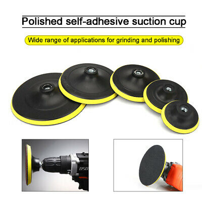 £3.36 • Buy 3-7  Backer Pad Hook And Loop Backing Plate Polishing Buffing Pads Sanding Discs