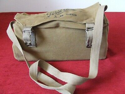 £250 • Buy WW2 Paragon ARP Surgeons First Aid Bag Complete With Contents