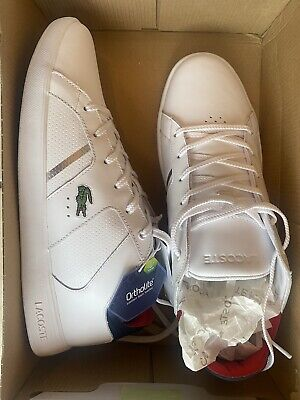 £29 • Buy LACOSTE Mens Trainers -White - UK Size 10