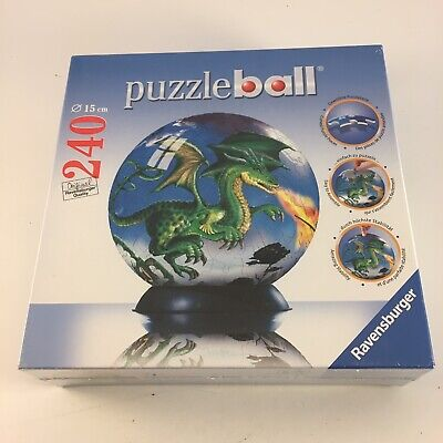 $14.99 • Buy DRAGON PUZZLE BALL 240-Piece 2009 Ravensburger *Pieces Factory Sealed*