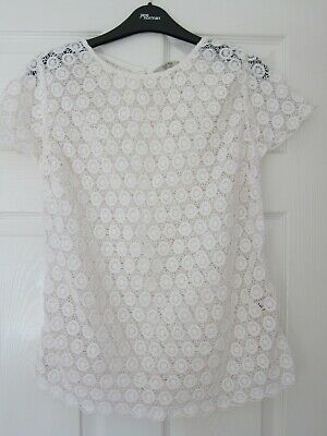 £3.50 • Buy Jack Wills Lace Top, Size 12