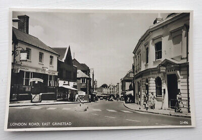 £5.60 • Buy London Road East Grinstead West Sussex Post Card Lingfield Redhill Horley