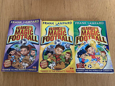 £3 • Buy Frankies Magic Football Books By Frank Lampard 4/5/6 Good Condition