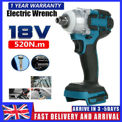 £23.99 • Buy Replace For MAKITA DTW285Z 18V Cordless Brushless Impact Wrench 1/2  Driver UK
