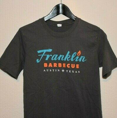 £8.77 • Buy Mens Franklin BBQ Austin Texas Sorry Sold Out T-Shirt Size SLIM Small