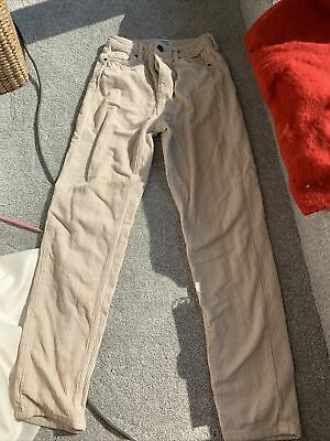 £5 • Buy Urban Outfitters Mom Cream Cords W24 L32