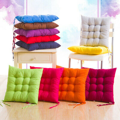 AU12.99 • Buy Soft Thicken Pad Chair Cushion Tie On Seat Dining Room Kitchen Office Decor AU