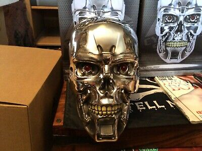 £49 • Buy Terminator T-800 Head Wall Mounted Skull With Led Lights (new )