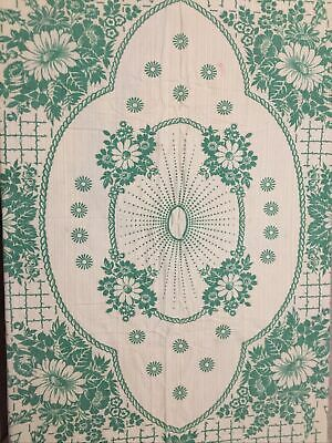 £4 • Buy PRICE DROP Irish Linen Tablecloth Check Out All My Items And Combine Postage