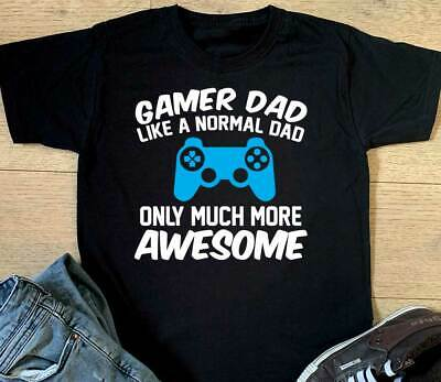 £10.99 • Buy Gamer Dad Playstation T Shirt Funny Fathers Day PS5 Birthday Christmas Gift Top