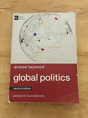 £1.40 • Buy Global Politics By Andrew Heywood A Level Textbook