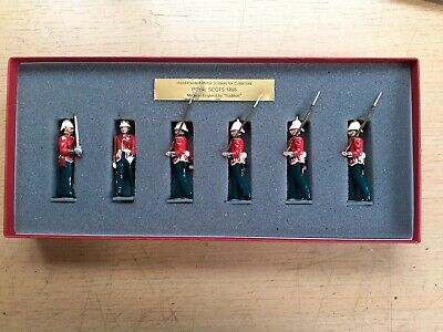 £24.99 • Buy Tradition 54mm Royal Scots 1895 Toy Soldier Set