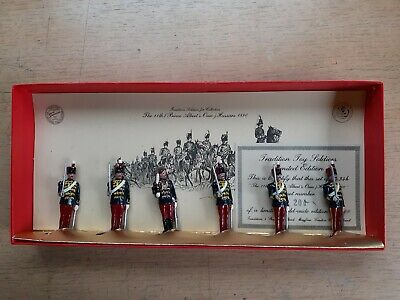 £24.99 • Buy Tradition 54mm 11th Prince Alberts Own Hussars 1890 Toy Soldier Set