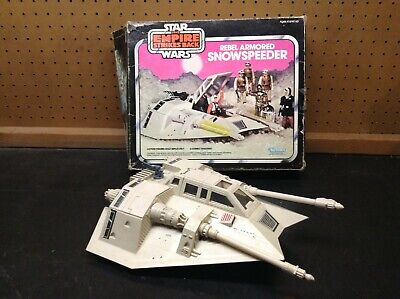 $ CDN83.08 • Buy Vintage Star Wars Snowspeeder 1980 Kenner With Box Tested And Working Clean