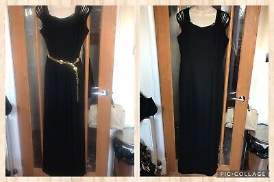 £14.99 • Buy Vintage AFTER SIX By Ronald Joyce Size 16 (belt Not Included)
