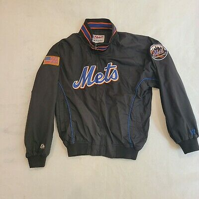 $104.89 • Buy New York Mets Majestic Black Dugout Jacket Size Large