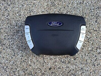 AU175 • Buy Ford SX SY Territory Airbag With Radio And Cruise Switch Controls Silver