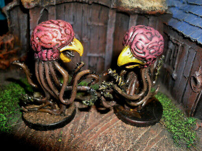 AU13.52 • Buy WOTC D&D Miniature - SET OF TWO GRELL (HTF FIGURES & PROFESSIONALLY PAINTED!!)