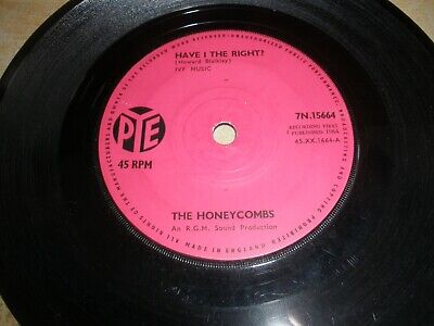 £4.50 • Buy Honeycombs Have I The Right B/w Please Don't Pretend Again 7N.15664 Solid Centre