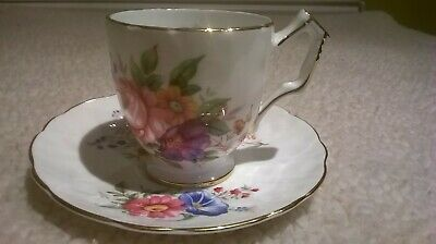 £2.99 • Buy Aynsley Cup, Saucer With  Floral Pattern In Good Condition