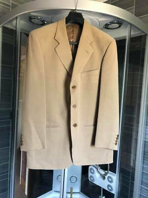 $30.57 • Buy Vintage Marks & Spencer Single Breasted Beige Pure Silk Dress Jacket 40 Ins Ches