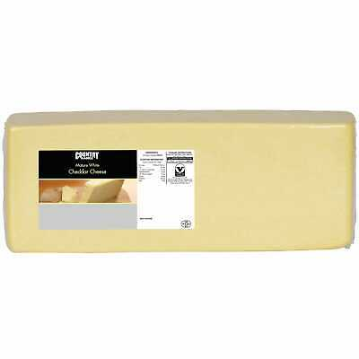 £41.99 • Buy Country Range Mature White Cheddar Cheese - 1x5kg Nom