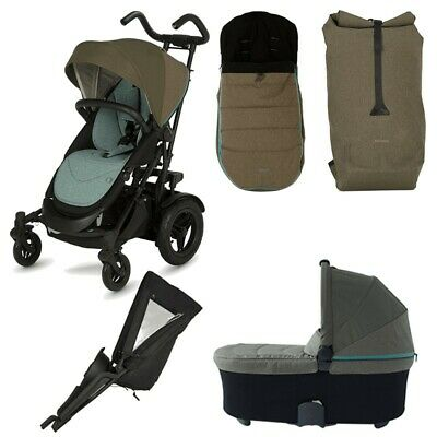 £190 • Buy Micralite TwoFold Bundle Double Tandem Stroller Buggy With Carrycot & BuggyBoard