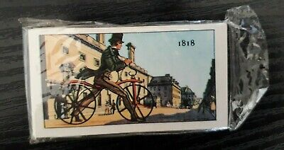 £8 • Buy Vintage Kellogg Company Cards Story Of The Bicycle Complete Original Packet