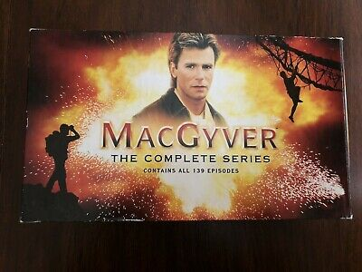 $55 • Buy MACGYVER The Complete Series All 139 Episodes On 39 Discs Richard Dean Anderson