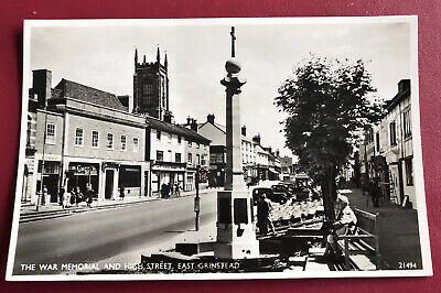 £4.80 • Buy The War Memorial And High Street East Grinstead Sussex Post Card