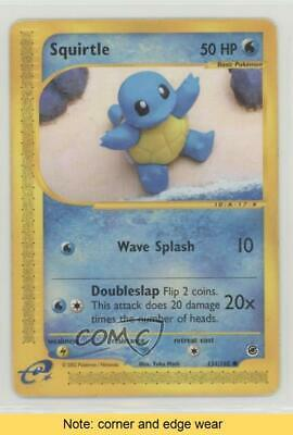 $8.59 • Buy 2002 Pokemon E-Card Series - Expedition Reverse Foil Squirtle #131 READ 4s2
