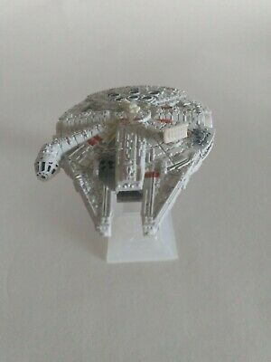 $4.99 • Buy Star Wars Millennium Falcon Die Cast Ship  With Stand 3  Metal And Plastic