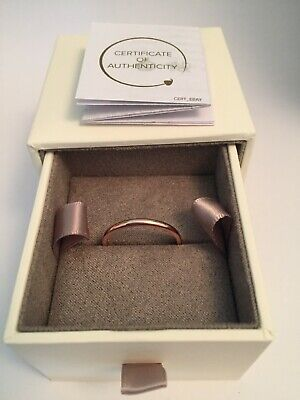 £35 • Buy Clogau 9ct Gold Ring Rose Gold Ring Stunning Ex Display Boxed Windsor Band 2mm T