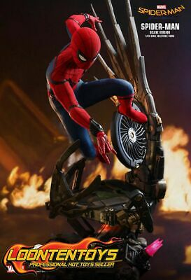 $ CDN780.47 • Buy Hot Toys 1/4 QS015 - Spider-Man: Homecoming Spider-Man (Deluxe Version) IN STOCK