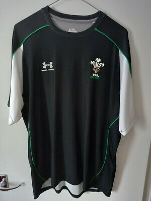 £17.99 • Buy Wales Rugby Training/Casual Shirt ( Under Armour - Mens Large ) Free P+P
