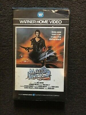 £4.10 • Buy Mad Max 2_ Pre Cert _first Release Big Box Ex Rental Vhs /rare/1983