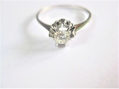 AU544.60 • Buy Ring White Gold 750 With Brilliant, 2,07 G