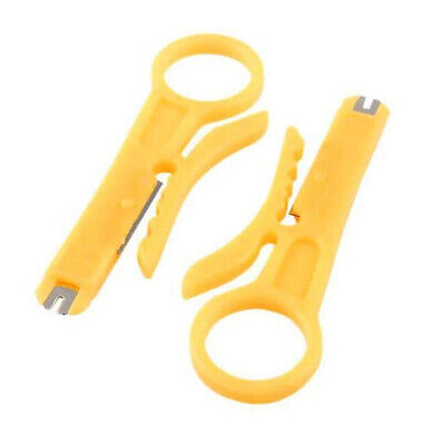 £1.99 • Buy 2X Telecom BT Telephone RJ45 Lan Network IDC Cable Insertion Punch Down Tool