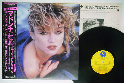 £2.85 • Buy MADONNA MATERIAL GIRL, ANGEL AND INTO GROOVE SIRE P-5199 Japan OBI VINYL 12