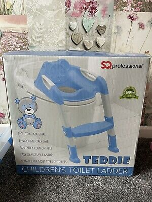 £5 • Buy Children's Toilet Ladder Seat Blue - Hardly Used