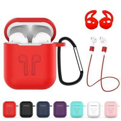 AU4.39 • Buy Strap Holder & Silicone Case Cover For AirPod Air Pod Hot AirPods Access L4D8