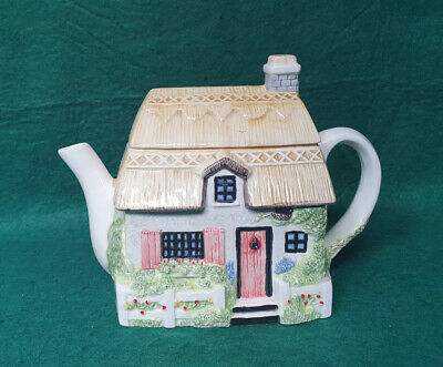 £2.99 • Buy Annie Rowe Village Collecable Teapot - Spring Cottage